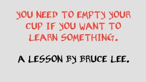 How to learn something new, how to learn new skills, Bruce lee,